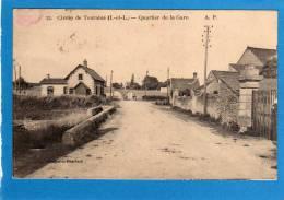 37 CIVRAY DE TOURAINE -QUARTIER DE  La Gare Cpa  écrite En 1930, Parfait état  Edit  A PAPEGHIN - Autres Communes