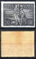 MIC 1948 Posta Aerea / Air Mail Lire 250 Arcangelo E Tobiolo Sassone A16 Nuovo / New (MNH)** [LEGGI / SEE DESCRIPTION] - Poste Aérienne