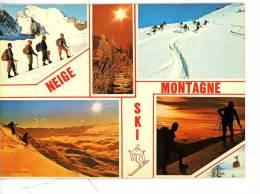 Les Joies De La Neige En Briançonnais - Montagne Ski Randonnée Alpinisme - Multivues - France