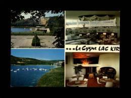 21 - PLOMBIERES-LES-DIJON - Lac Chanoine Kir - Restaurant Le Cygne LAC KIR - Carte Publicitaire - France