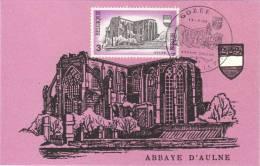 1483 Abbaye D' Aulne à Gozée - 1961-1970