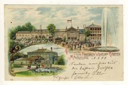 MAGDEBURG  - 1899 , FRiedrich Wilhelms Garten - Magdeburg