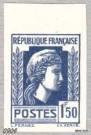 France Marianne Alger Variété Non Dentelé - Variétés Et Curiosités