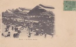ASIE---TONKIN---RARE---- Hanoi Le Grand Marché--voir 2 Scans - Viêt-Nam