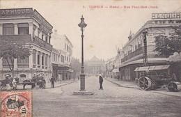 ASIE---TONKIN----Hanoi Rue Paul Bert (nord)--(rouleau Compresseur Cylindrade)--voir 2 Scans - Viêt-Nam