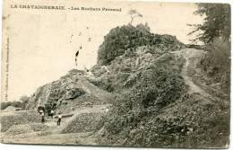 CPA 85 LA CHATAIGNERAIE LES ROCHERS PERRAUD - La Chataigneraie