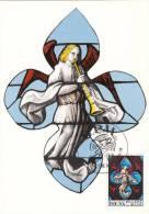 1519 Vitraux D´église - Mons - Eglise Saint-Waudru - Annonciation - 1961-1970