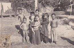 ASIE---TONKIN-----groupe D'enfants--voir 2 Scans - Viêt-Nam