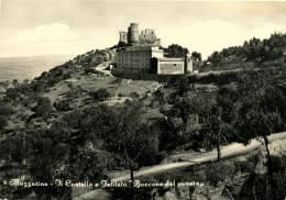 MAZZARINO (CL) IL CASTELLO E ISTITUTO BOCCONE DEL POVERO 1961 - Caltanissetta