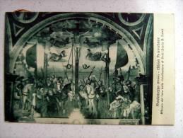 MONTEMEZZO (COMO) - CHIESA PARROCCHIALE AFFRESCO DEL CORO DELLA CROCIFISSIONE DI GESU'  X GRAVEDONA 1932 - Como