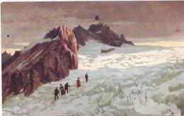 RAPHAEL TUCK & SON - OILETTE - SERIES 106  N. 24 - MONT BLANC - Tuck, Raphael