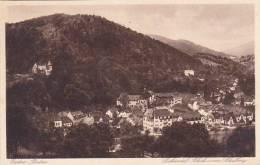 Germany Baden Baden Lichtental Blick vom Schalberg 1933