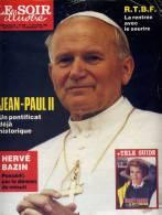 Le Soir Illustré N° 2938 Du 13 Octobre 1988 Jean-Paul II Bazin Nîmes Guyane Austin Mini Serge Lama Harnoncourt Chili - Collections