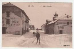 39 - La Faucille - Hôtel De La Faucille - Facteur Sur Des Skis - Editeur: B.F N° 4 - Frankreich