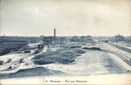 81 WESTENDE : Vue Vers Westende - RARE CPA - Edition Ls. Wyss, Basel - Cachet De La Poste 1919 - Westende