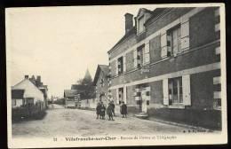 Villefranche Sur Cher: Bureau De Postes Et Télégraphe - France