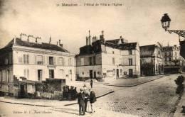 MEUDON  L 'hôtel De Ville Et L'église - Meudon