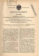 Original Patentschrift - W. Smethurst In Dolgelly B. Gwynedd , 1906 , Brenner Für Brennbare Gase !!! - Historische Documenten