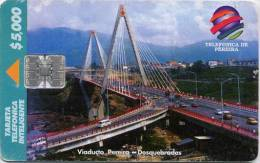 Lote TT184, Colombia, Tarjeta Telefonica, Phone Card, Telepsa, 5.000, Pereira, Used, Not Perfect Card - Colombia