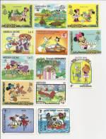 Disney 13 Different Stamps Collection - Sri Lanka (Ceylon) (1948-...)