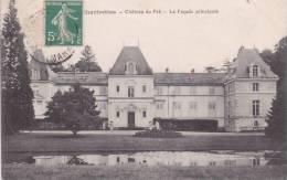 CPA 77  CHARTRETTES, Le Chateau Du Pré.(1913) - Autres Communes