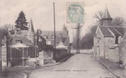 CPA 77  CHARTRETTES, Entrée Du Pays. - France