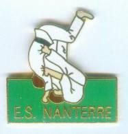 Pin's ES NANTERRE - Judo Club - Judokas En Randori - B1080 - Judo