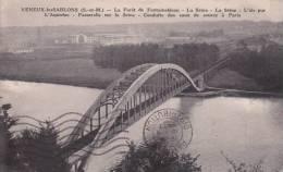 CPA 77  VENEUX-LES-SABLONS ,l'Aqueduc Des EAUX De PARIS. (1937) - France