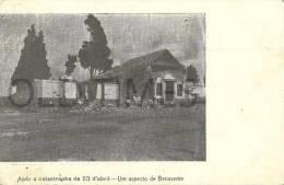 PORTUGAL - BENAVENTE - APOS A CATASTROFE DE 23 DE ABRIL - UM ASPECTO - 1910 PC - Santarem