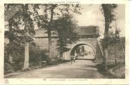65 CPA Lannemezan Pont D Espagne Train Chemin De Fer SNCF - Other Municipalities