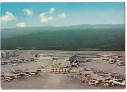 TRANSPORT AERODROME FRANKFURT AM MAIN RHEIN MAN GERMANY BIG CARD OLD POSTCARD - Aerodrome