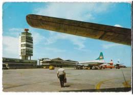 TRANSPORT AERODROME BEOGRAD SERBIA YUGOSLAVIA BIG CARD OLD POSTCARD 1970. - Aerodrome