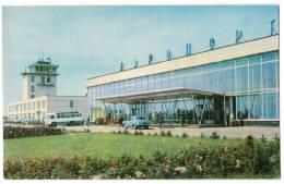TRANSPORT AERODROME VARNAJL MOSCOW SSSR OLD POSTCARD - Aerodrome