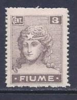 """Fiume, Scott #28 MNH """"Italy"""",  White Paper, 1919 - 8. Occupazione 1a Guerra"""