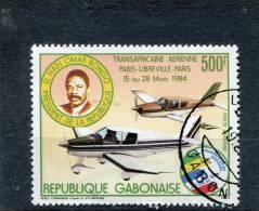 GABON. 1984. SCOTT C264. PARIS-LIBREVILLE-PARIS AIR RACE, MAR. 15-28 - Gabon (1960-...)
