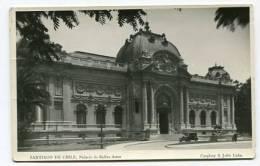 CHILE - AK136618 Santiago De Chile - Palacio De Bellas Artes - Chili