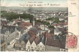 Plzen         Pohled E Veze   K   Vychodu      CPA 1907 - Tschechische Republik