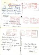 3 EMA Sur Carte Postale De Turquie - Turchia