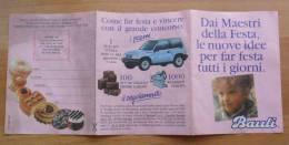 PIEGHEVOLE PUBBLICITARIO DELLA BAULI DEL 1990 - - Pubblicitari