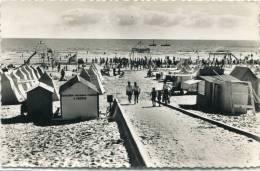 CPSM 85 ST JEAN DE MONTS LA PLAGE 1954 - Saint Jean De Monts