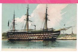 Bateau , Marine De Guerre , Le BORDA école Navale - Warships
