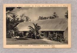 32824     Iles  Cook  -  Rarotonga  -  Ecoles  Des  Soeurs,  VG  1932 - Cook Islands