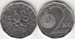 REPUBBLICA CEKA - 2 KORUNA - 2002 - Circolata - Repubblica Ceca