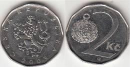 REPUBBLICA CEKA - 2 KORUNA - 2003 - Circolata - Repubblica Ceca