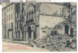 Luneville , Meurthe Et Moselle , La Synagogue - Oorlog 1914-18