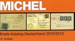 Michel Deutschland Spezial Briefe Katalog 2013 Neu 89€ Handbook With Special Cover FDC Card Letters Catalogue Of Germany - Pasatiempos Creativos