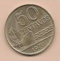 50 Centavos BRESIL 1970 - Brésil