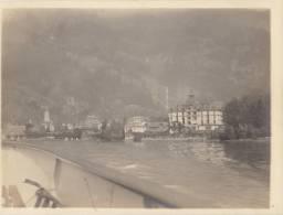 Ancienne Photo 1903 De Suisse Brunnen - Plaatsen