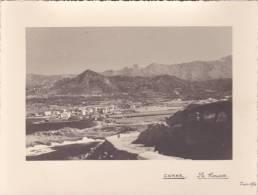 PHOTO Grande Qualité @ ILE ROUSSE ( Corse ) Vue Plongeante En 1936 @ N° 20 - Places