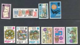Fiji - Fidji  1971 -74 Small Set - Petit Lot  *** MNH - Fidji (1970-...)
